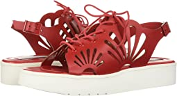 Stella McCartney Kids Flores Platform Sandals w/ Floral Cut-Outs (Big Kid)