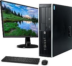 HP Elite 6300 Small Form Computer Desktop PC, Intel Core i5 3.2GHz Proccessor, 8GB Ram, 128GB M.2 SSD + 500GB HDD, WiFi & ...