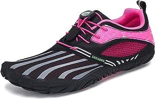 SAGUARO Barefoot Shoes Men Women Minimalist Barefoot Trainers Wide Toe Non Slip Lightweight Fitness Training Gym Shoes