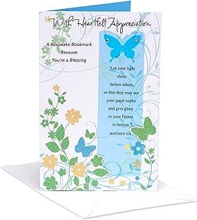 American Greetings Religious Thank You Card (Religious, Heartfelt Appreciation)