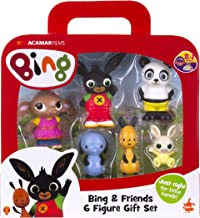 Bing-& Friends 6 Figura de Regalo, Color Set (Golden