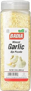 Badia Garlic Minced, 1.5 Pound
