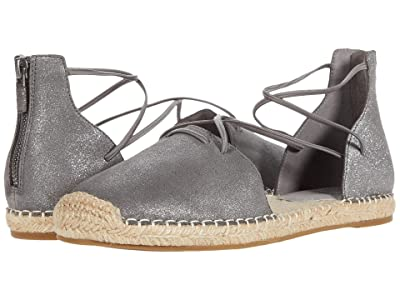 Eileen Fisher Lace (Pewter Stary Platinum Metallic Leather) Women