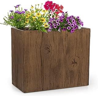 """blanc 70 cm Bac à Fleurs Bac à plantes contenant fibre de verre /""""Cubic/"""""""