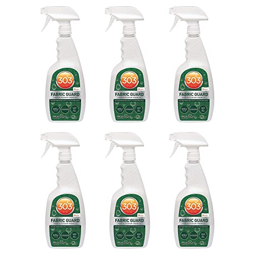 303 (30606-6PK) Fabric Guard, Upholstery Protector, Water and Stain Repellent, 32 fl. oz., Pack of 6