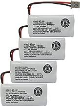 GEILIENERGY (Pack of 4) 2.4V 300mAh BT-1021 BBTG0798001 Cordles Phone Battery Compatible with Uniden BT1021 BT-1025 BT-1008 BT-1016 Empire CPH-515B Cordless Phone