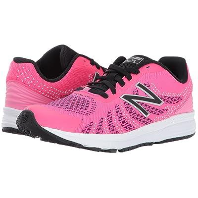 New Balance Kids Rush (Little Kid) (Pink/Black) Girls Shoes