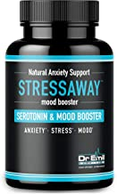 Dr. Emil - Natural Anxiety Relief Supplement – Doctor-Formulated to Support Stress Relief, Serotonin Production and Mood Boost (60 Veggie Capsules)