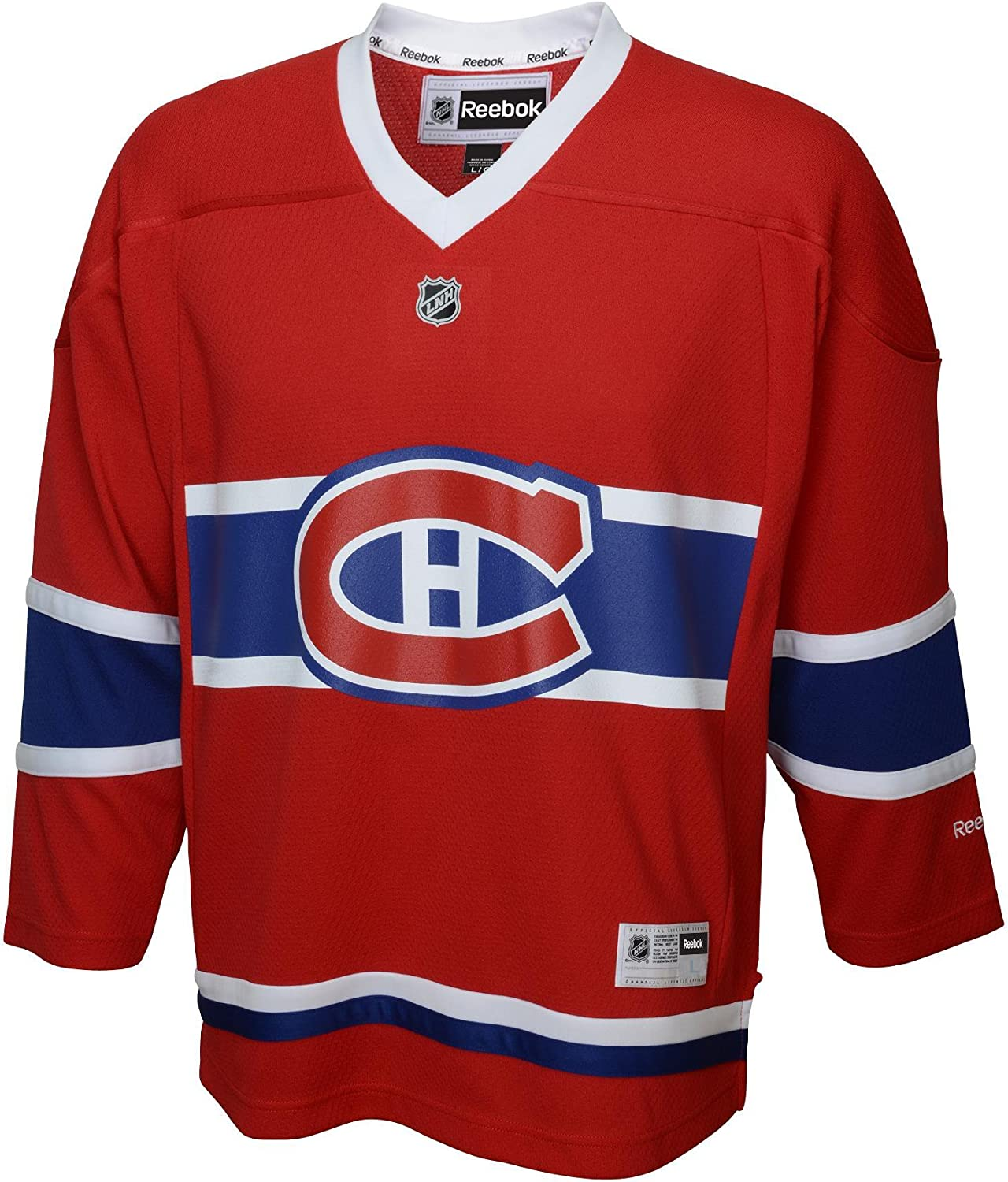 Nhl Montreal Canadiens Replica Youth Jersey Red Large X Large Jerseys Amazon Canada