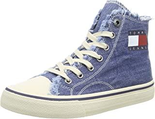 Tommy Jeans Hightop Sneaker Womens Fashion Trainers