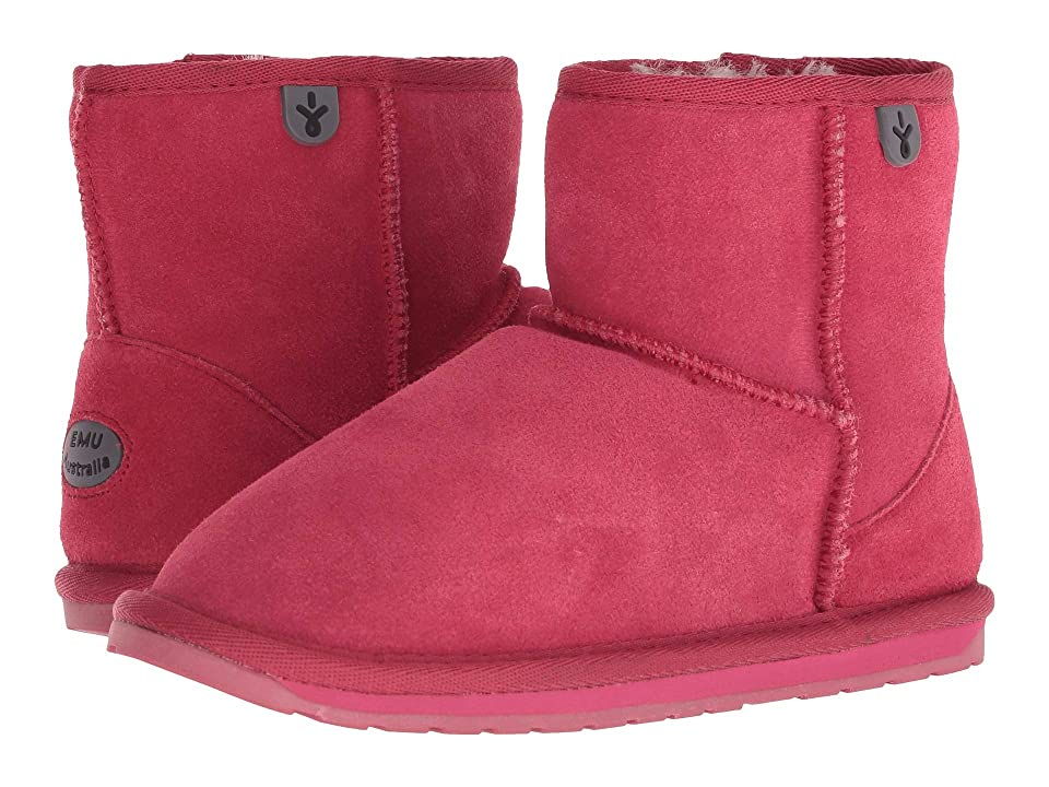 EMU Australia Kids Wallaby Mini (Toddler/Little Kid/Big Kid) (Fuchsia) Kids Shoes