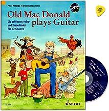 Old Mac Donald plays Guitar – de vackraste folk- och barnbarnen för 1–2 gitarrer – för unga gitarrister från ca 8 år – git...