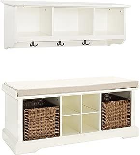 Best storage bench and shelf set Reviews