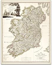 Best map of ireland to print Reviews