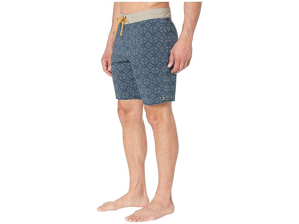 Billabong 19 Sundays Mini Boardshorts (Indigio) Men's Swimwear, Blue