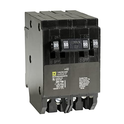 Square D By Schneider Electric HOMT2020250CP Homeline 2 20 Amp Single Pole 1