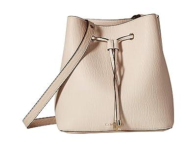 Calvin Klein Sonoma Bubble Lamb Novelty Hobo (Sand) Handbags