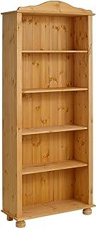 loft24 j adore regal bucherregal standregal holzregal aktenregal landhausstil kiefer massivholz gebeizt geolt