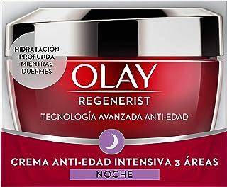 Olay Regenerist Crema de noche | Crema facial de noche sin fragancia con niacinamida y péptidos 50 ml