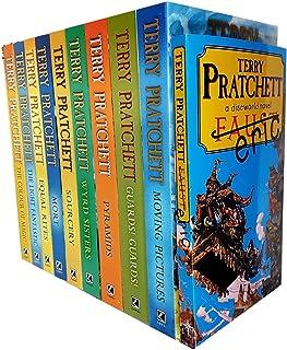 Terry pratchett Discworld novels Series 1 and 2 :10 books collection set