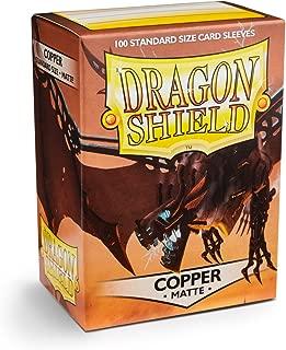 Sleeves: Dragon Shield Matte Copper