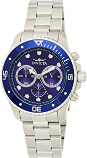 INVICTA Pro Diver Men 45mm Stainless Steel Stainle - 21788