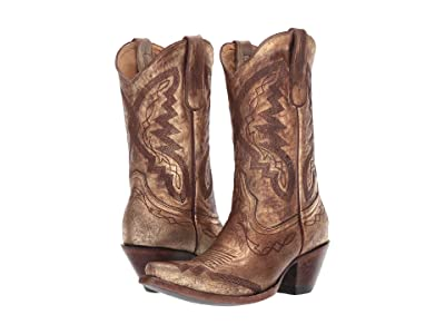 Old Gringo Peyton (Gold) Cowboy Boots