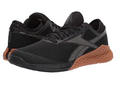 Reebok Nano 9 (Black/True Grey 7/Reebok Rubber Gum 03) Women