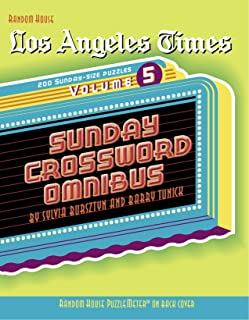 Los Angeles Times Sunday Crossword Omnibus, Volume 5 (The Los Angeles Times)