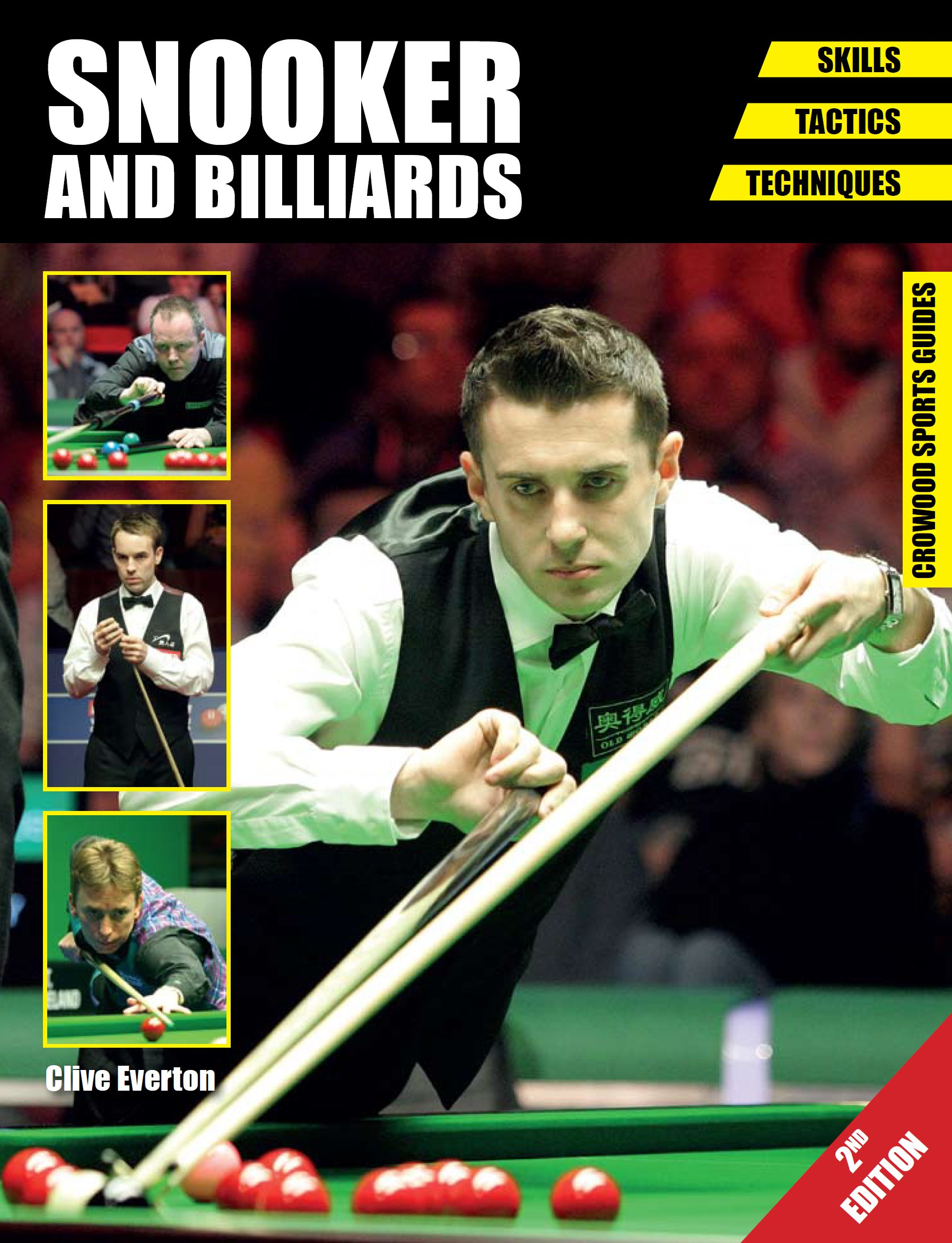 Image OfSnooker And Billiards: Skills - Tactics - Techniques - Second Edition (Crowood Sports Guides) (English Edition)