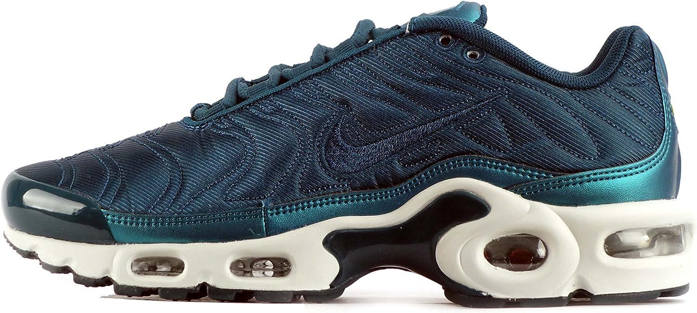 Nike Womens Air Max Plus SE Womens Running Trainers 862201 Sneakers shoes (Metallic Dark sea Midnight Turquoise 901)