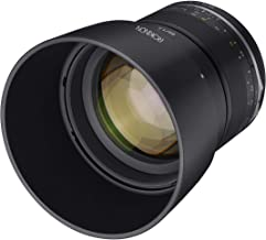 Sponsored Ad - Rokinon Series II 85mm F1.4 Weather Sealed Telephoto Lens for Canon EF, Model Number: SE85-C