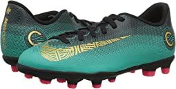 Mercurial Vapor 12 Club CR7 MG Soccer (Little Kid/Big Kid)