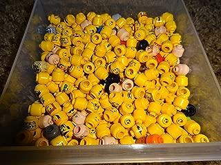 25 Random Lego Minifigure Heads