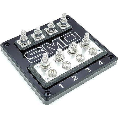 Amazon.com: SMD Heavy Duty Double XL ANL Fuse Block (Aluminum): Car  ElectronicsAmazon.com