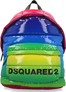 Luxury Fashion | Dsquared2 Womens BPW000911202411M377 Multicolor Backpack | Fall Winter 19