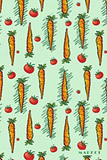 Market: Farmers Organic Vegtables Vegan 2020 Planner Calendar Daily Weekly Monthly Organizer