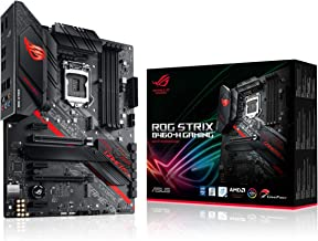 ASUS ROG Strix B460-H Gaming B460 LGA 1200 (Intel 10th Gen) ATX Gaming Motherboard (Intel 1Gb LAN, USB 3.2 Gen 2,Thunderbo...