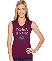 Life is Good - Yoga Magic Hoodie Smooth Tee