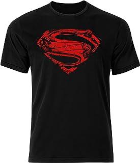 Superman Chest Logo T-Shirt Hope Symbol Black