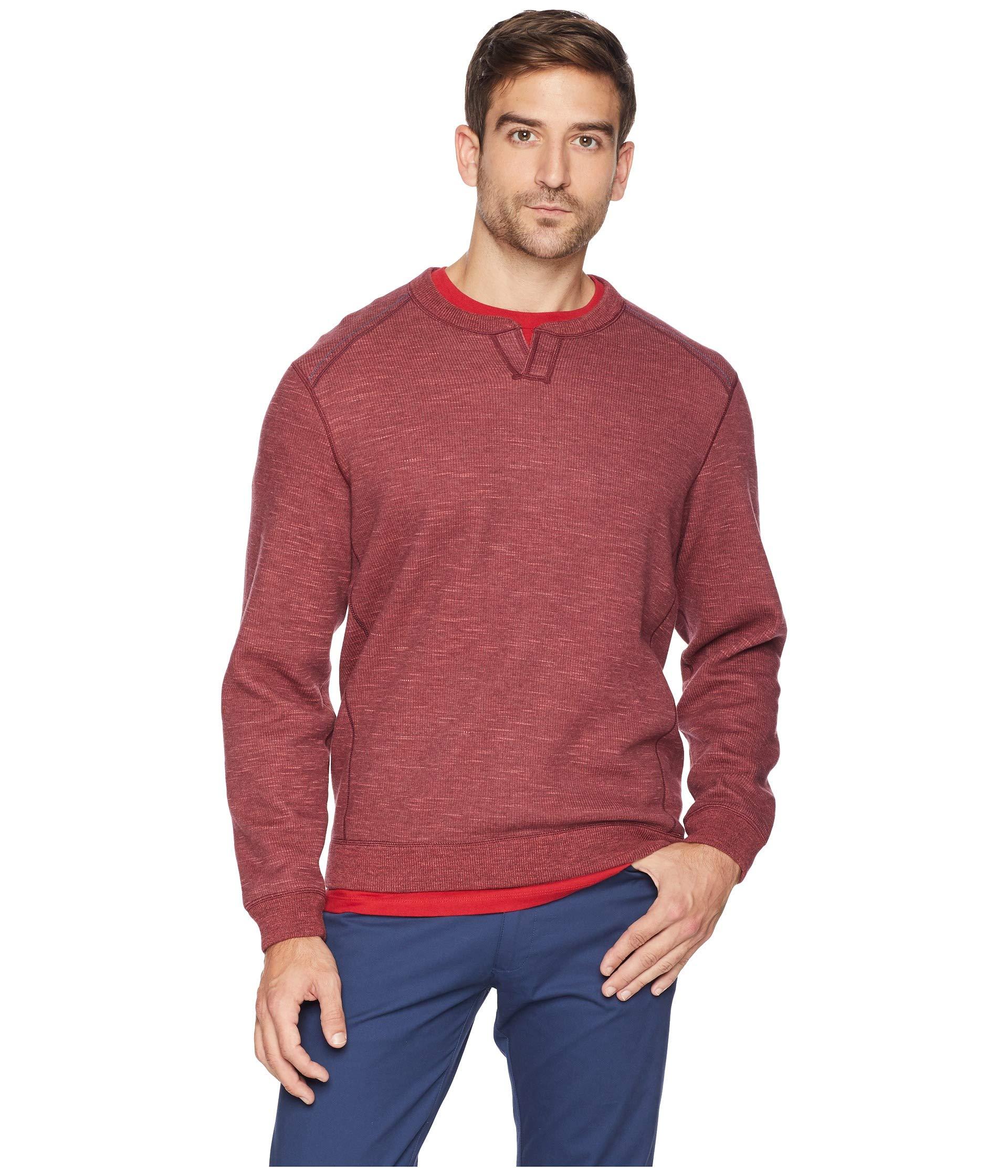 Plum Abaco Heather Raisin Bahama Tommy Flipsider Reversible Sweater qPwR7RxpT