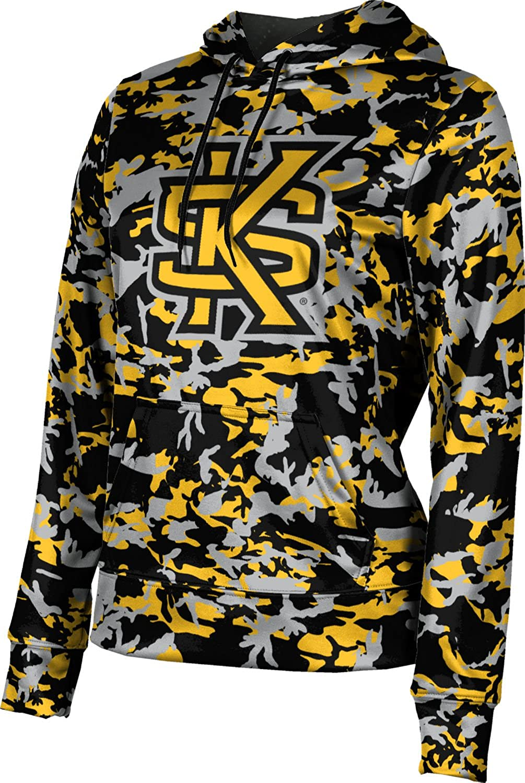 ProSphere Kennesaw State University Girls' Pullover Hoodie, School Spirit Sweatshirt (Camo)