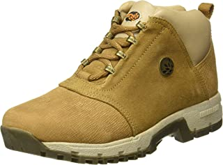 Woodland Men's Camel Leather Boot 6 UK/India (40 EU)-(OGB 0706109)