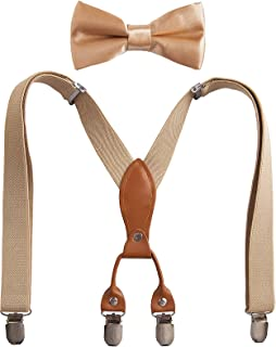 Kids Bow Tie And Suspenders
