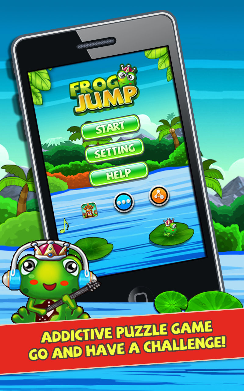 Froggy Jump 2 - Bouncy Time HD