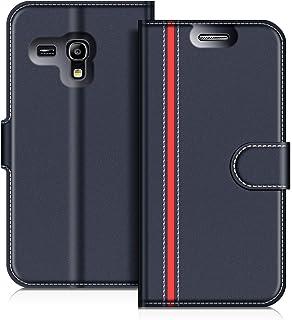 0657a0c1a71 COODIO Funda Samsung Galaxy S3 Mini, Funda Cuero Samsung Galaxy S3 Mini,  Funda Cartera