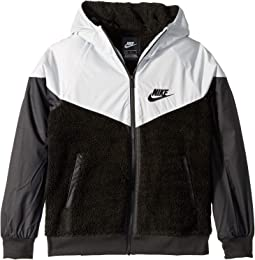 2f0cab3b1d7 Black Pure Platinum Cool Grey White. 25. Nike Kids. NSW Sherpa Jacket  (Little ...