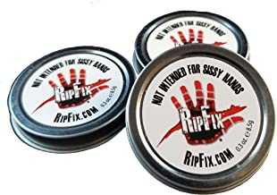 RipFix by Winnies - Hand Repair Cream & Callus Treatment for Cracked or Ripped Hands - Travel Size - 0.3 oz Tin (Pack of 3)