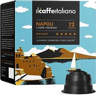 Il Caffè Italiano - Nescafè Dolce Gusto 96 Capsule compatibili - Miscela Napoli Intensità 12 - Frhome