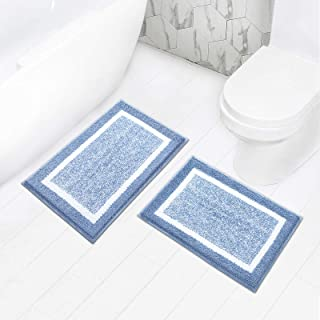 Bathroom Rug Mat, Ultra Soft and Water Absorbent Bath Rug, Bath Carpet, Machine Wash/Dry, for Tub, Shower, and Bath Room, ...